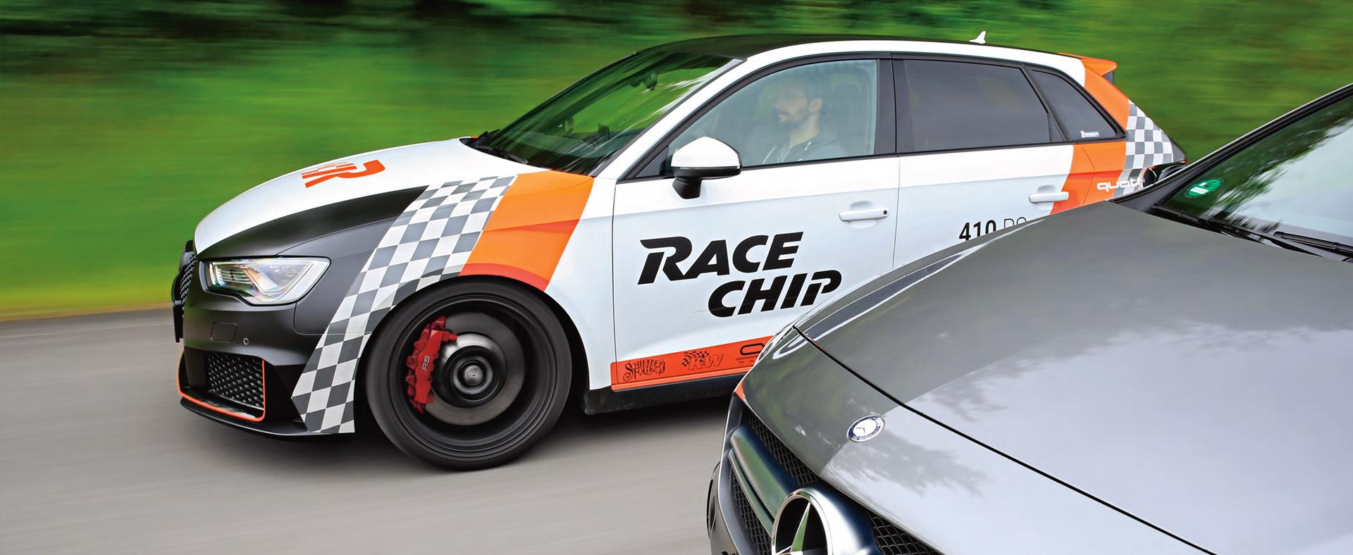 RaceChip Macan macht Platz für seinen Nachfolger
